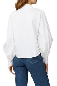 White Frankie Top by Hunter Bell