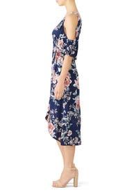 Floral Devon Wrap Dress by Flynn Skye