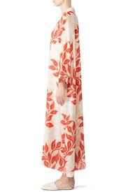 Leaf Print Kimono by PatBO