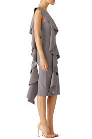 Grey Ceara Dress by Solace London