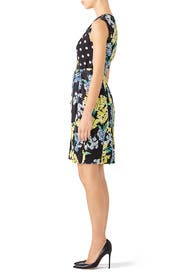 Mixed Print Dress by Slate & Willow
