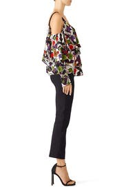 Rose Abstract Top by Jason Wu Collection