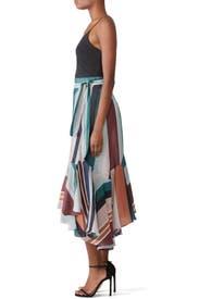 Rosita Wrap Skirt by Apiece Apart