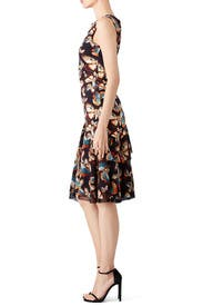 Butterfly Tiered Dress by Fuzzi