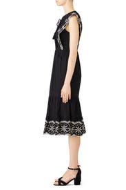 April Eyelet Midi Dress by Greylin