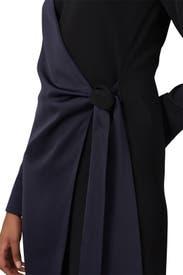 Wrap Panel Dress by Victoria Victoria Beckham