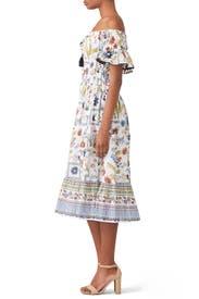 Meadow Folly Dress by Tory Burch