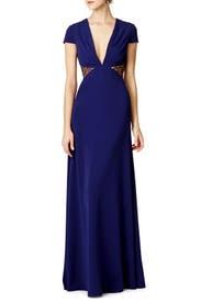 Side Part Gown by Jill Jill Stuart