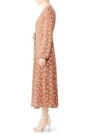 Polka Dot Midi Dress by byTiMo