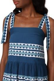 Blue Iris Dress by CAROLINA K