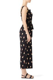 Black Pineapple Jumpsuit by kate spade new york