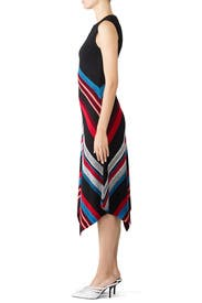 Marled Ottoman Stripe Dress by Proenza Schouler
