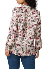Floral Bridget Top by Marina Rinaldi