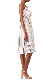 Striped Jazmin Dress by Shoshanna