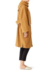 Camel Chelsea Coat by Tory Burch