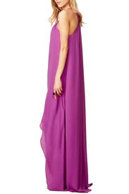 Orchid Sunrise Maxi Dress by Halston Heritage