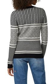 Graphic Fairisle Sweater by Jason Wu