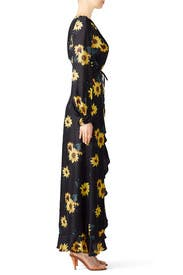 Sunflower Crossover Maxi by The Kooples