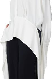 Side Tie Shirt by Victoria Victoria Beckham