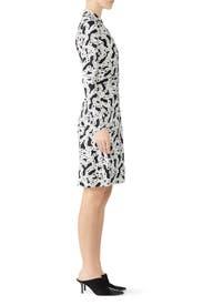 New Jeanne Chain Wrap Dress by Diane von Furstenberg