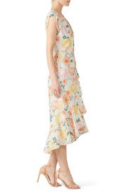 Santorini Wrap Dress by Yumi Kim