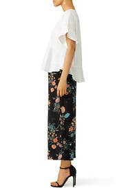 Meadow Floral Pant by Rebecca Taylor