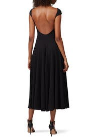 Open Back Circle Dress by Esteban Cortazar