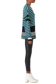 Retro Checkered Sweater by MSGM
