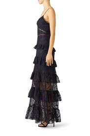 Iris Lace Gown by Nicholas