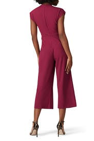Cropped Belted Jumpsuit by Slate & Willow