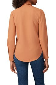Brown Bow Blouse by See by Chloe