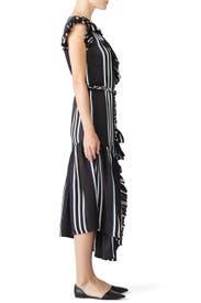 Costa Del Sol Ruffle Wrap Dress by Apiece Apart