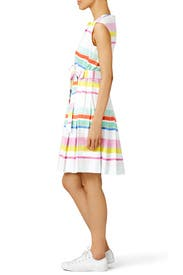 Multi Cape Stripe Shirtdress by kate spade new york