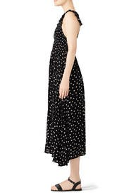 Chambray Butterflies Dot Maxi by Free People