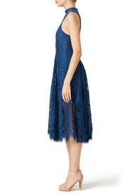Sapphire Angel Rays Trapeze Dress by Free People