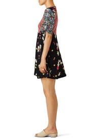 Mix It Up Printed Mini Dress by Free People
