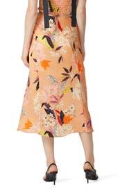 Floral Bias Skirt by krisa