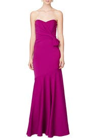 Orchid Petal Gown by Badgley Mischka