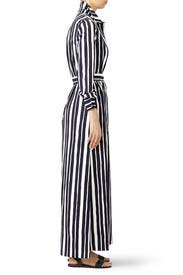 Striped Shirtdress by Martin Grant