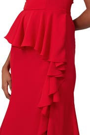 Ruffled Midi Dress by Prabal Gurung Collective
