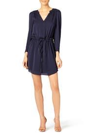 Midnight Shirt Dress by Rebecca Taylor