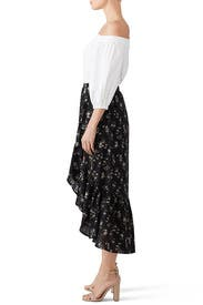 Emer Faux Wrap Ruffle Skirt by B Collection by Bobeau