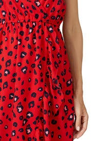 Animal Printed Midi Dress by Louna