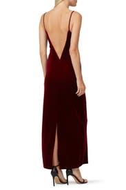 Velvet Berlin Bustier Dress by GALVAN