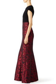 Red Rizzo Gown by Parker