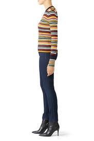 Long Sleeve Multi Striped Pullover by 3.1 Phillip Lim