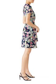 Mixed Floral Printed Dress by Slate & Willow