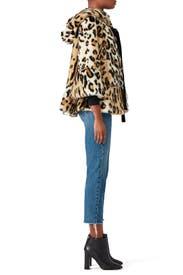 Scarlet Faux Fur Coat by Twinset
