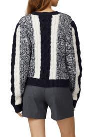 Colorblock Wool Sweater by Jason Wu