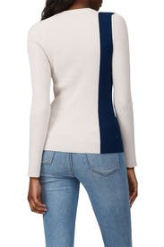 Two Tone Ribbed Pullover by 3.1 Phillip Lim